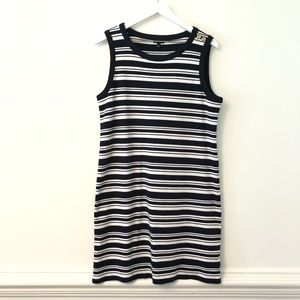 2FOR15 🌴Talbots Nautical Stripe Knit Dress L